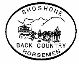 Shoshone Back Country Horsemen