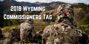2018 Wyoming Commissionrs Tag